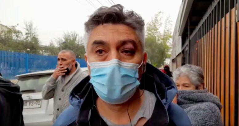 Candidato a alcalde de Lo Espejo denuncia golpiza