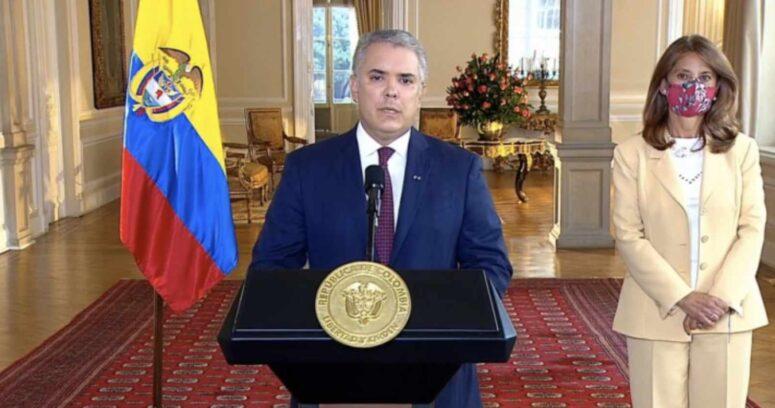 Presidente de Colombia ofrece recompensa para quien entregue información sobre vándalos