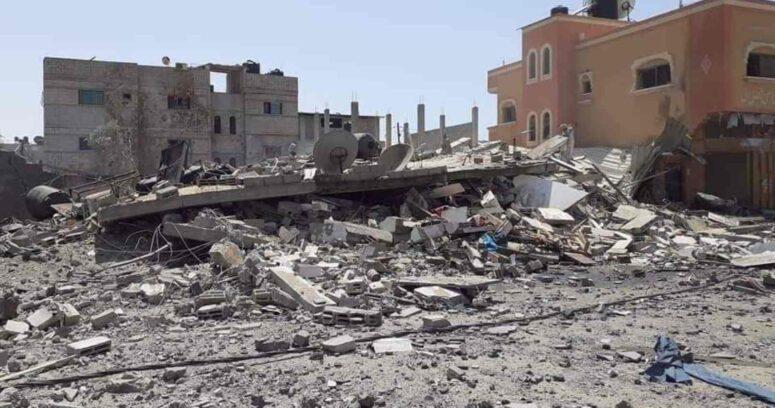 """""""Al menos 75 mil personas abandonan sus hogares en Gaza por los bombardeos israelíes"""""""