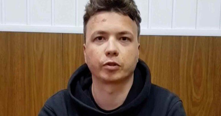 """""""Bielorrusia:Periodista detenido apareció en un video y podría haber sido torturado"""""""