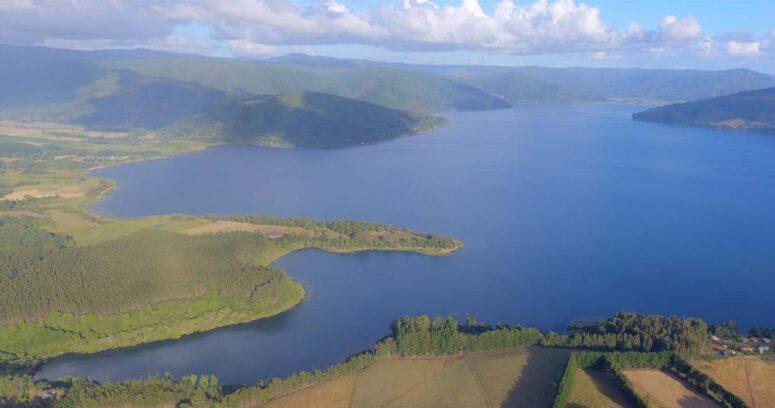 Comunidad Juan Lincopan y CMPC avanzan en la creación de un polo turístico alrededor del Lago LLeu Lleu