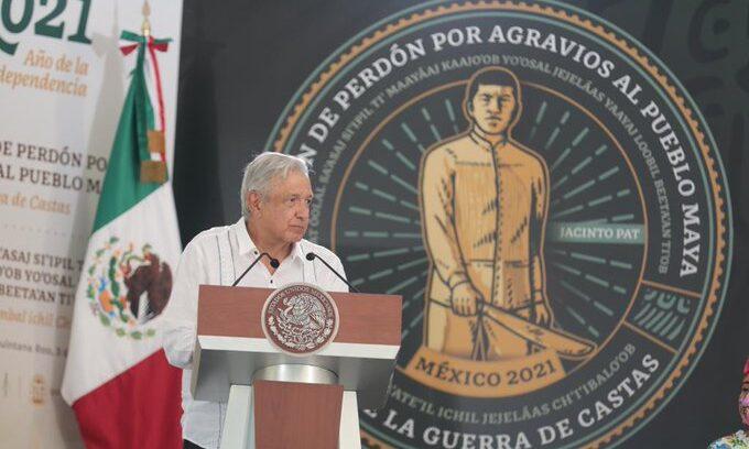 """México pide perdón al pueblo maya por los """"terribles abusos"""" sufridos en la historia"""
