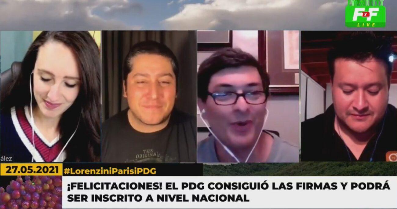 """Franco Parisi detalló que la intención es ser """"uno de los tres partidos más grandes, porque demostrará que Chile no es de izquierda ni de derecha""""."""