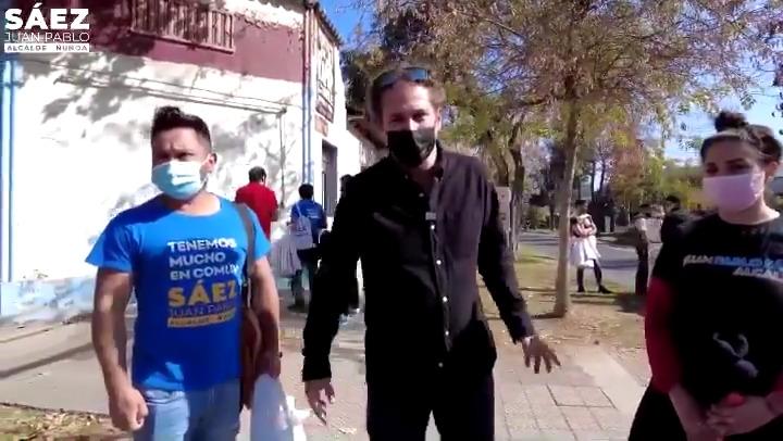 Juan Pablo Sáez denuncia agresión a brigadistas de su campaña