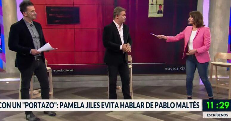 """""""¿Será porque…?"""": la reacción de Tonka Tomicic al portazo de Pamela Jiles a la prensa"""