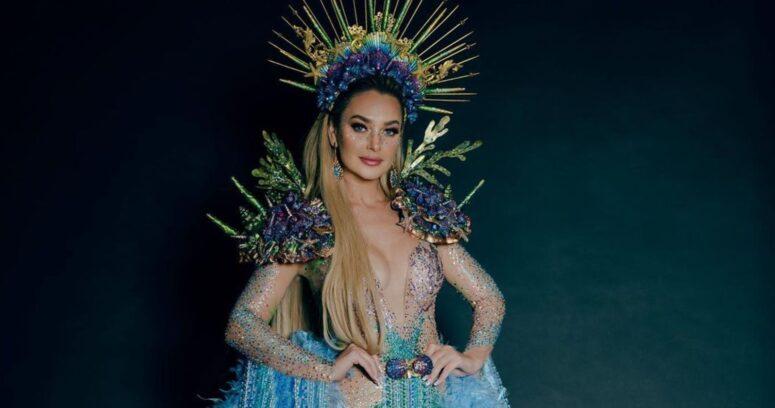 VIDEO – Daniela Nicolás se lució con traje de La Pincoya en la previa del Miss Universo