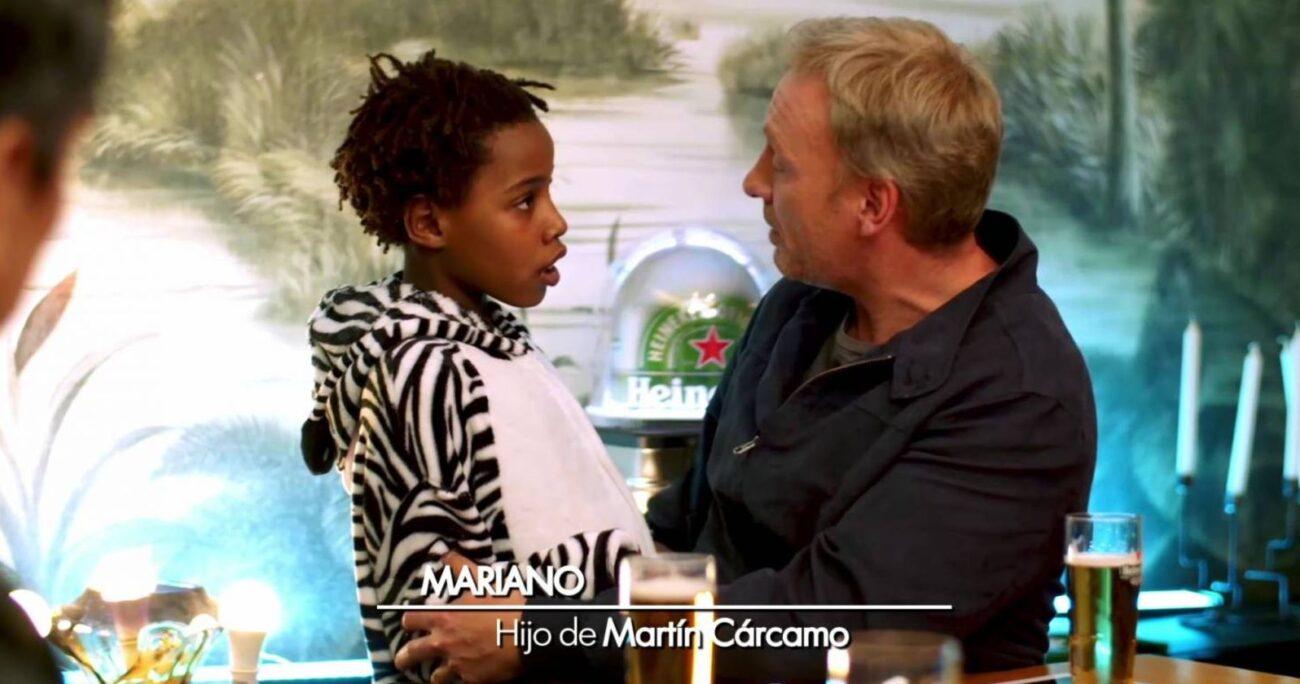 Mariano recibió una invitación de Maly Jorquiera cuando apareció en escena.