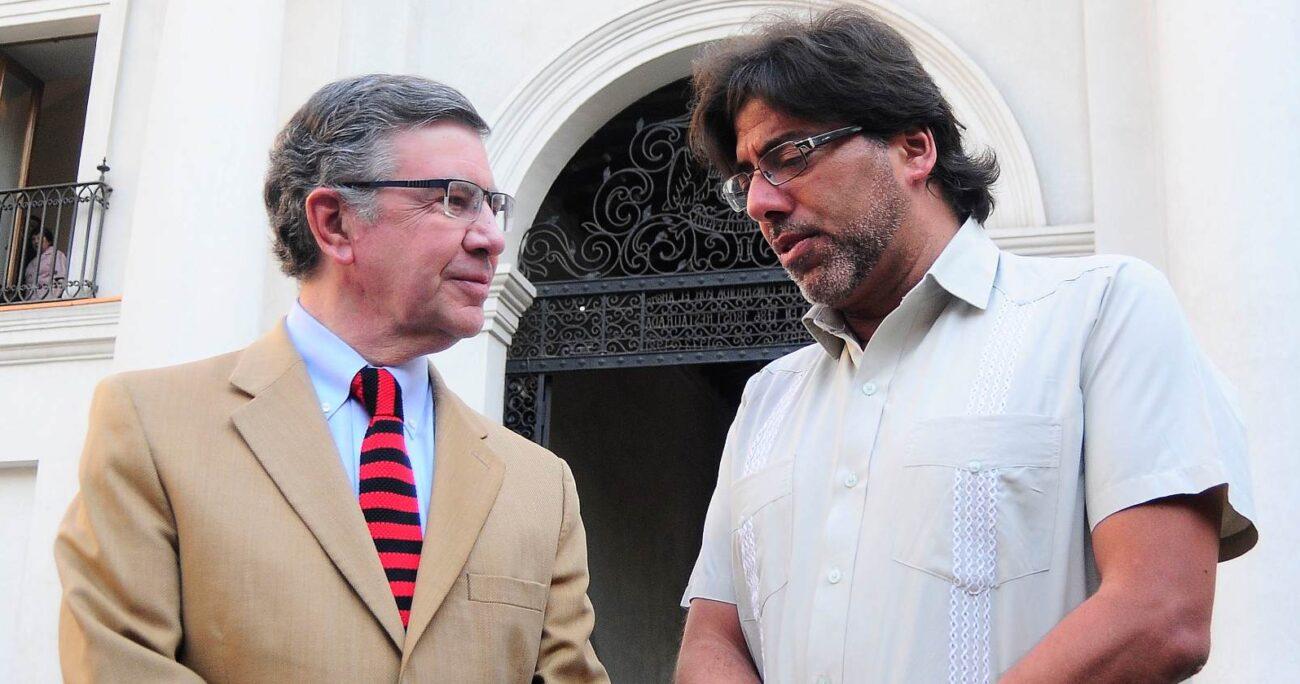 Mientras Jadue obtuvo la reelección en Recoleta, Lavín dejó el cargo para enfocarse en su candidatura. AGENCIA UNO/ARCHIVO
