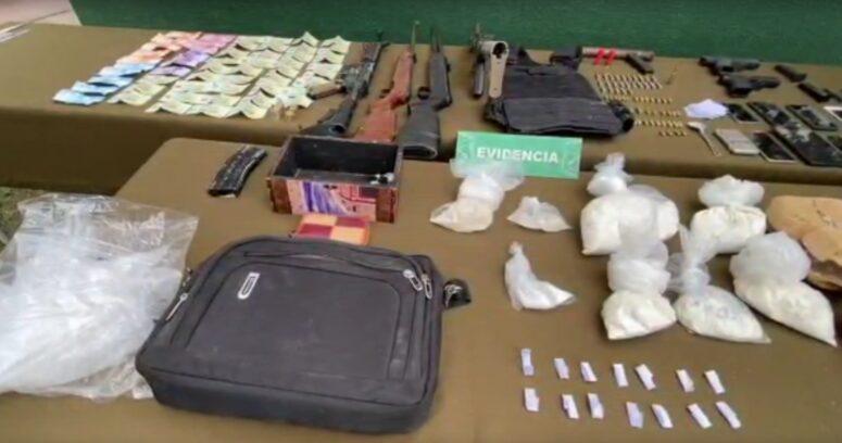Carabineros incautó fusiles semiautomáticos e importante armamento en La Pintana: dos detenidos