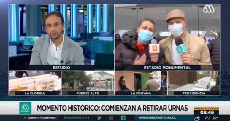 VIDEO – Tonka Tomicic irrumpió en despacho de José Antonio Neme para Meganoticias