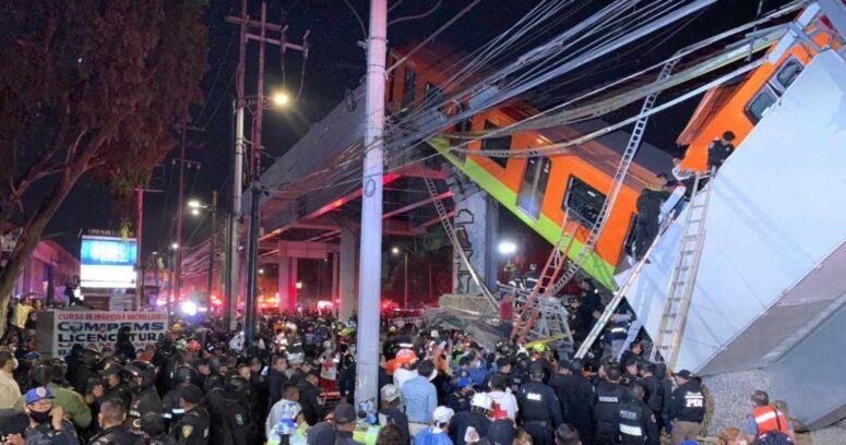 Quién construyó la línea 12 del Metro que se desplomó en Ciudad de México