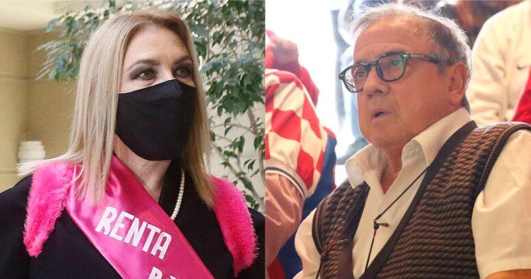 """VIDEO – La ácida crítica de Mauricio Pesutic a Pamela Jiles: """"No tiene decencia"""""""