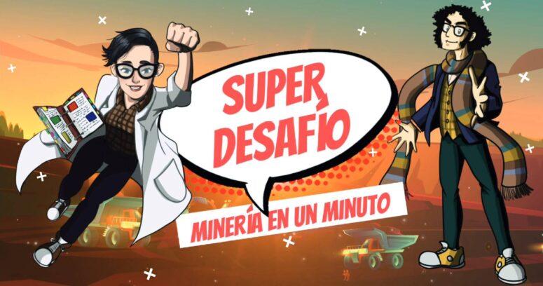 """""""Minería en un minuto: el nuevo programa que aterriza en TV Educa Chile"""""""