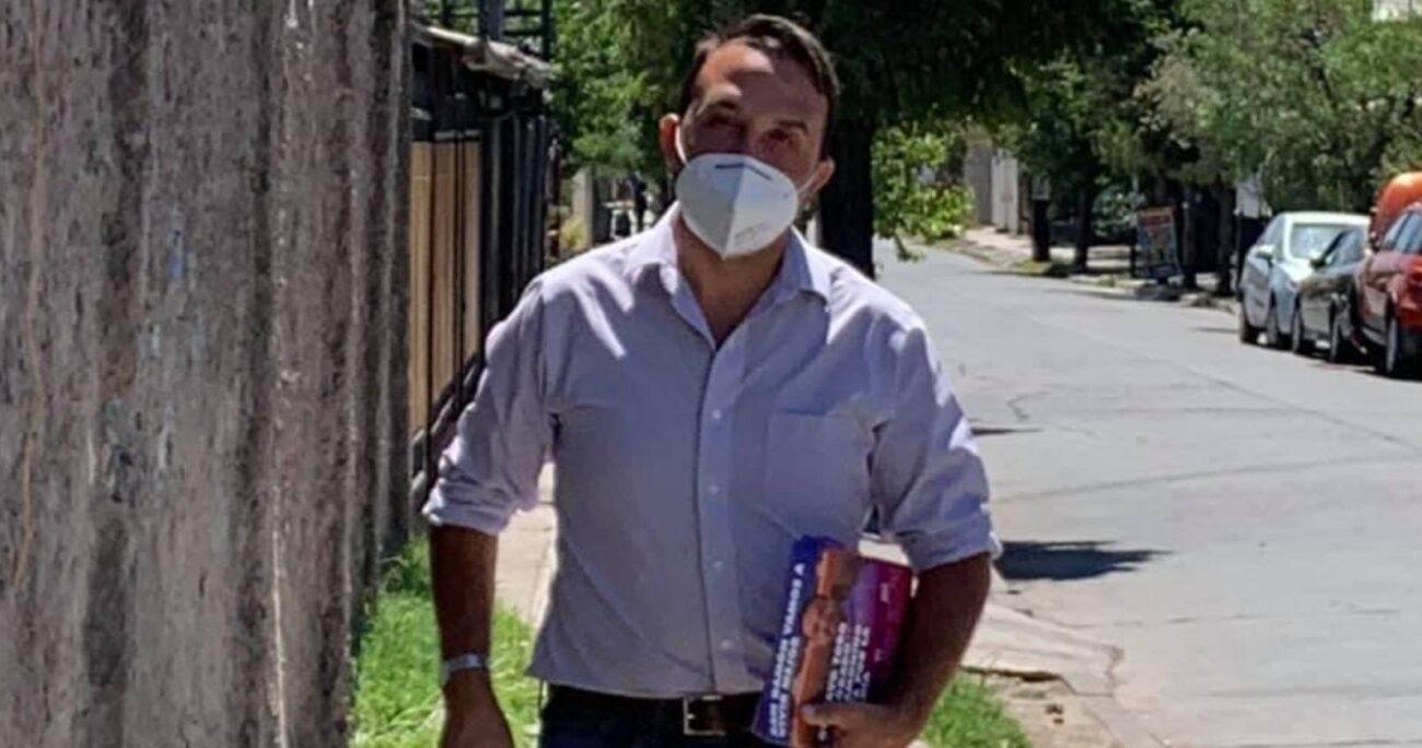 El 15 de marzo pasado, Gustavo Toro (DC) denunció haber sido víctima de amedrentamientos por parte de los simpatizantes de Miguel Ángel Aguilera.