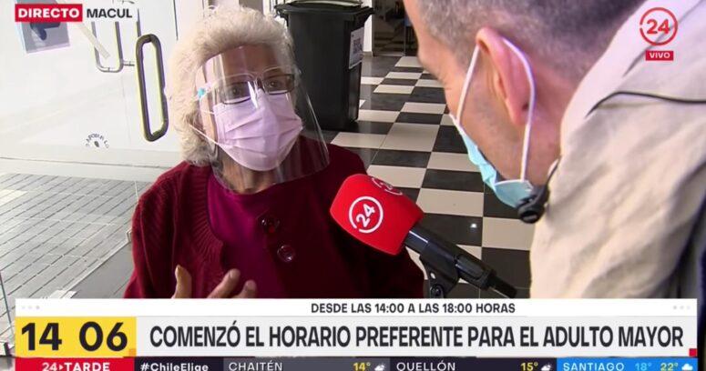 """""""No quieren saber de mí"""": el relato de anciana que emocionó a Iván Núñez"""