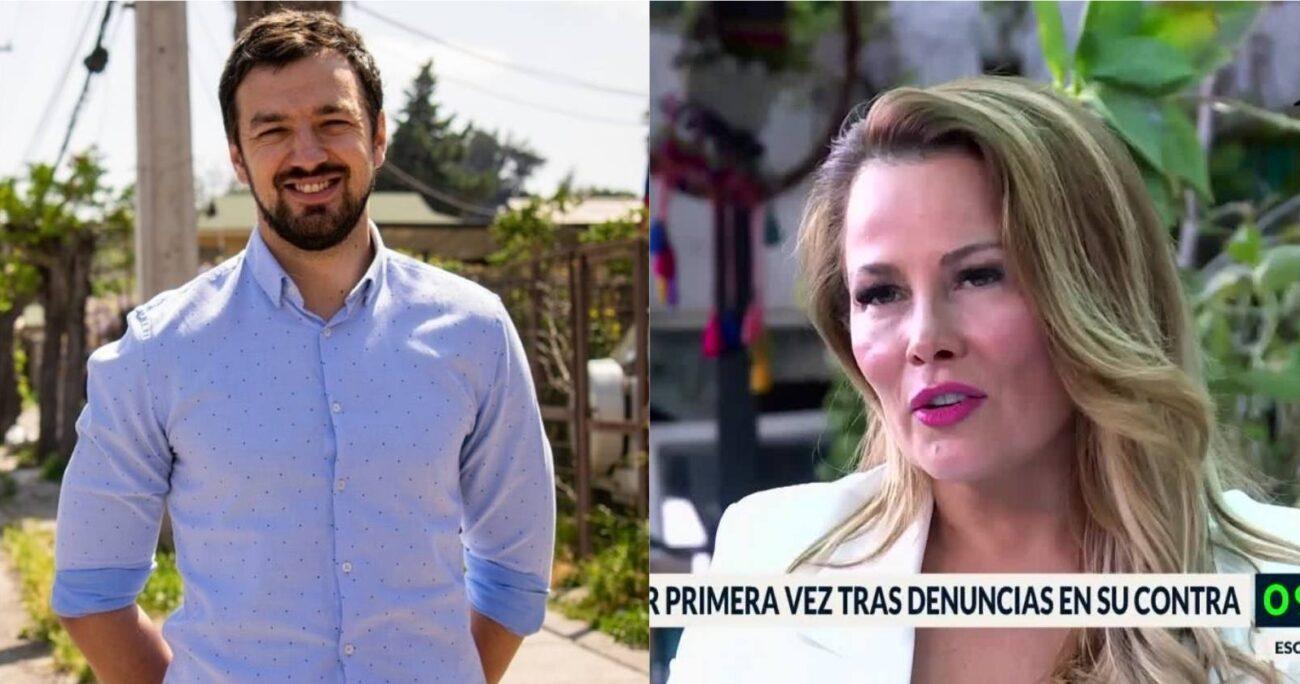 En la entrevista, Barriga se refirió por primera vez al reportaje que la acusó de millonarios pagos por horas extras en el municipio. INSTAGRAM/CANAL 13