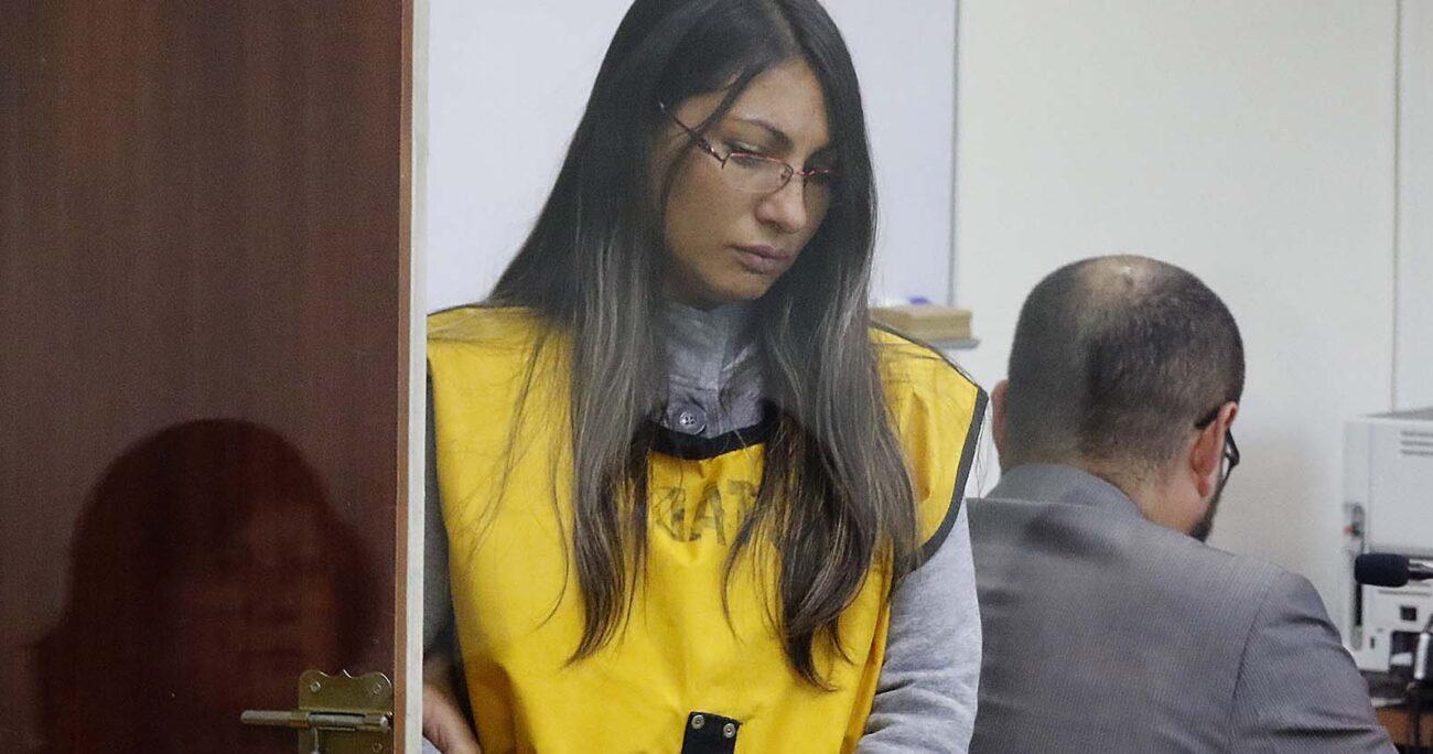 Johanna Hernández Vicuña se encuentra recluida en la cárcel de San Joaquín, condenada por el homicidio calificado del profesor. AGENCIA UNO/ARCHIVO