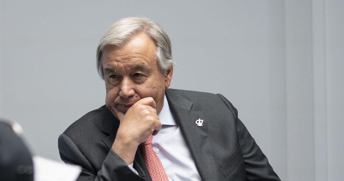 """""""Me siento profundamente honrado y agradecido por la confianza"""", dijo Guterres. ARCHIVO/AGENCIAUNO"""