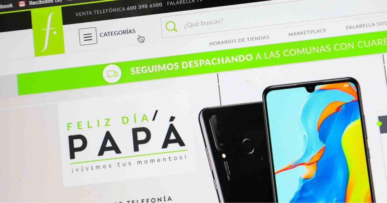 Desde el lunes 31 de mayo ya no es posible comprar online a través de la página web. ARCHIVO/AGENCIAUNO