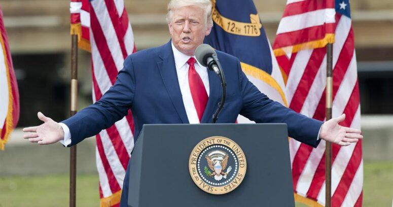 """""""Donald Trump reaparece y asegura que"""