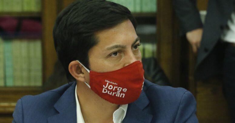 """""""Diputado RN Jorge Durán presenta nuevo proyecto de retiro del 100% de las AFP"""""""
