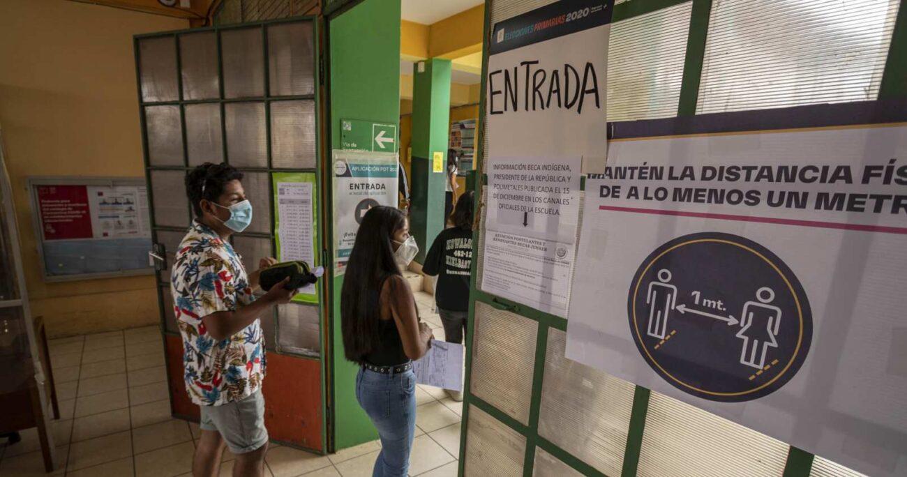 La primera PDT se realizó en medio de la pandemia de COVID-19. AGENCIA UNO/ARCHIVO