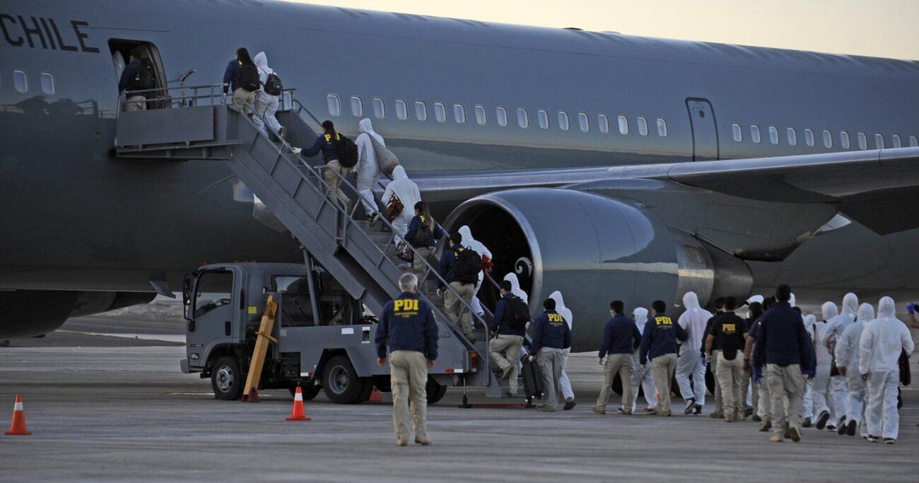 En este tercer viaje fueron expulsados ciudadanos argentinos y colombianos. AGENCIA UNO/ARCHIVO