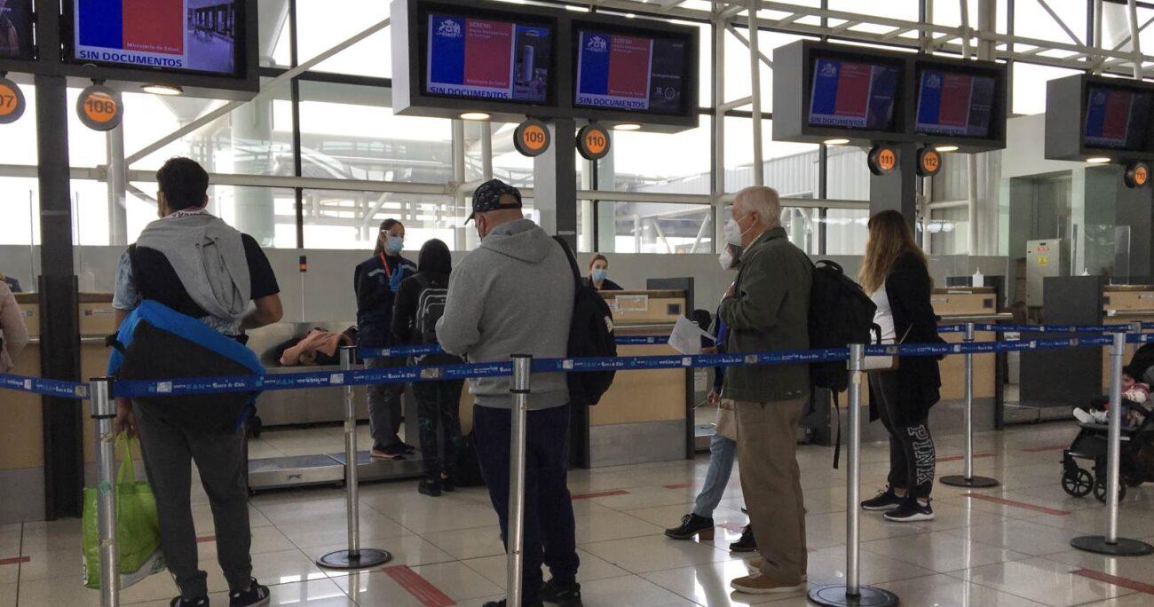 Actualmente las personas que llegan desde el exterior deben cumplir con un aislamiento de cinco días. AGENCIA UNO/ARCHIVO
