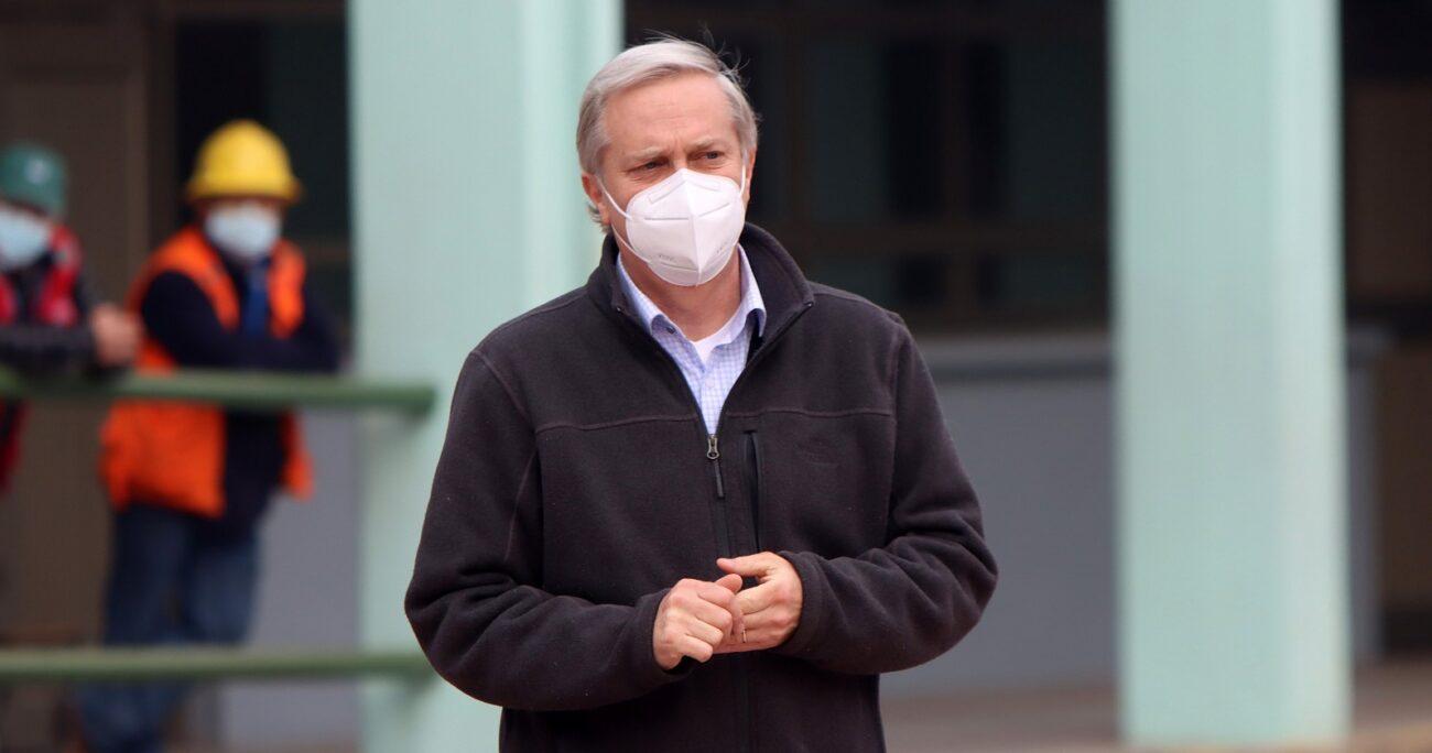 Sebastián Piñera viajará por Europa desde el 22 de junio. AGENCIA UNO/ARCHIVO