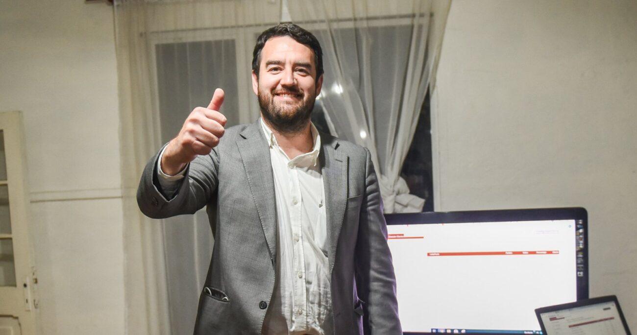 Luciano Rivas venció a Eugenio Tuma con un 58,2% de los votos. AGENCIA UNO