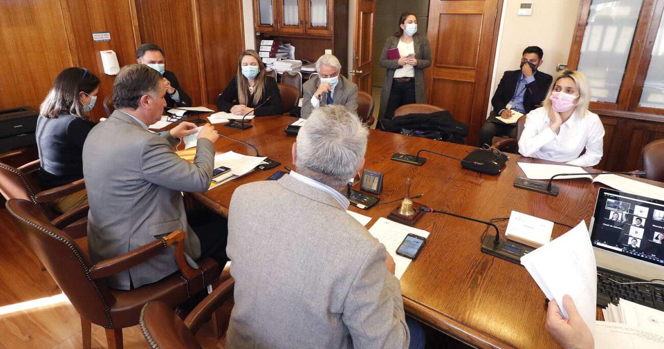 La Comisión de Desarrollo Social se suspendió en varias ocasiones a la espera de esta propuesta de La Moneda. AGENCIA UNO/ARCHIVO