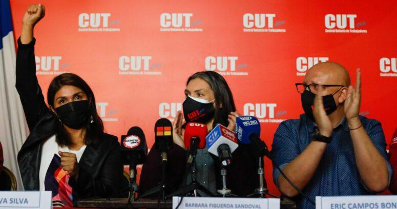 """""""Silvia Silva (PS) fue nombrada como nueva presidenta de la CUT"""""""