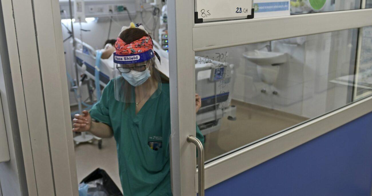Los mayores de 70 años también incrementaron las hospitalizaciones. AGENCIA UNO/ARCHIVO