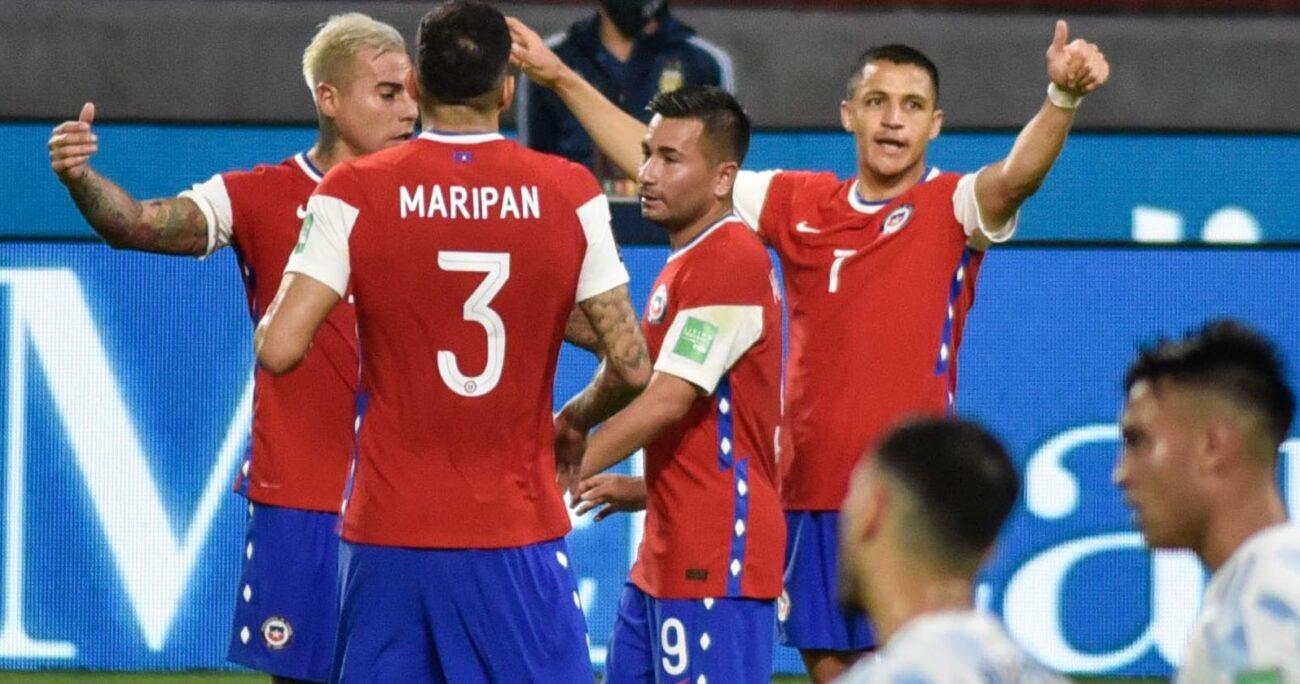 En el primer confronte oficial de Martín Lasarte en el banco nacional, la Roja terminó con positivas sensaciones. AGENCIA UNO