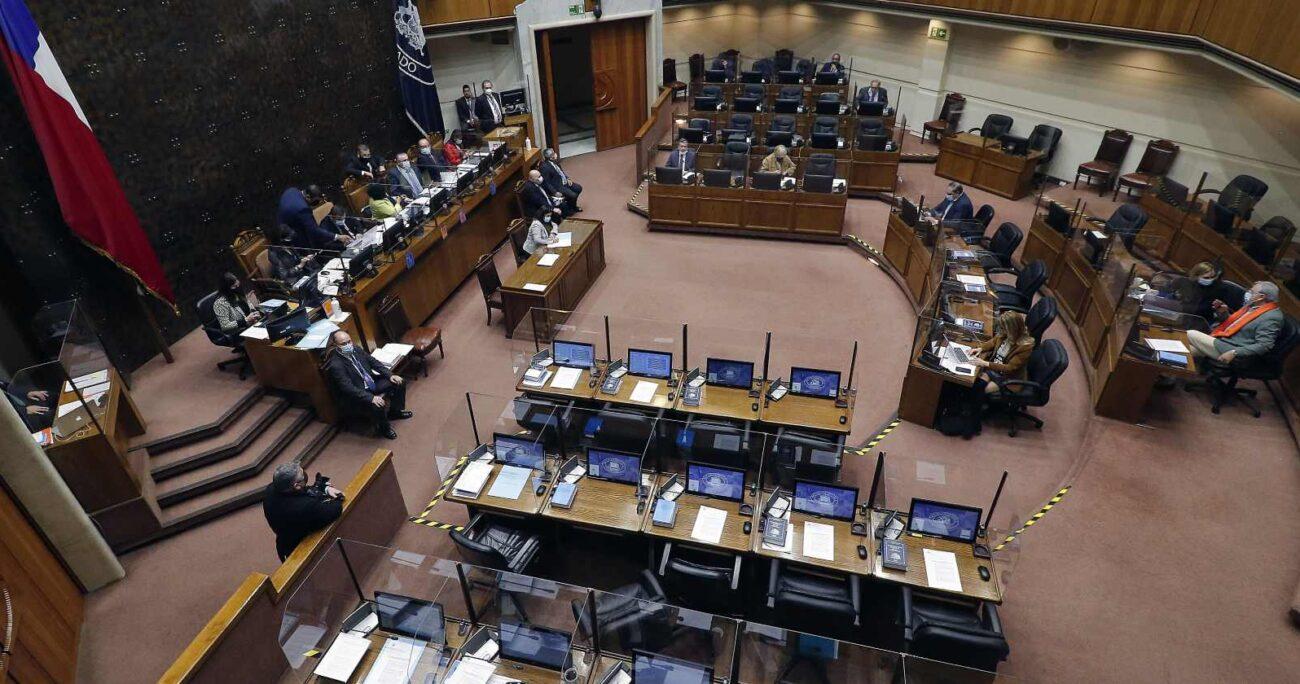 La Sala del Senado quedó convocada a partir de las 09:30 horas de este viernes. AGENCIA UNO/ARCHIVO