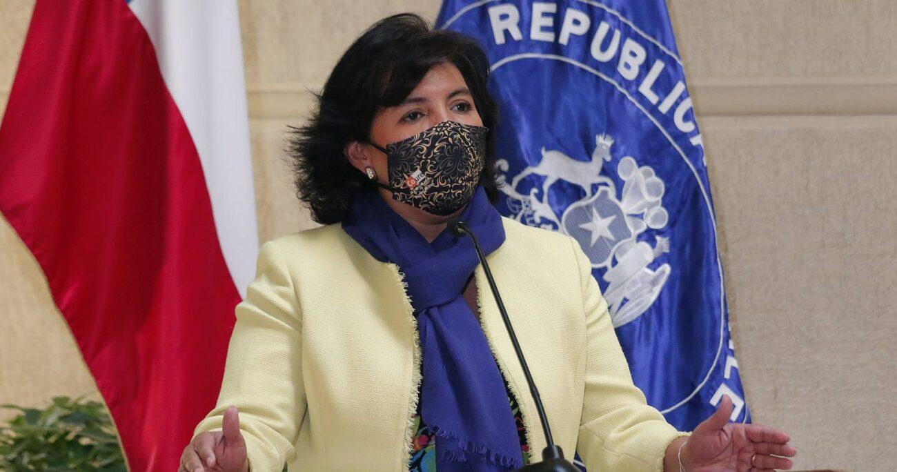 La senadora recordó que fue el acuerdo de noviembre de 2019 el que generó el cronograma constituyente. AGENCIA UNO/ARCHIVO