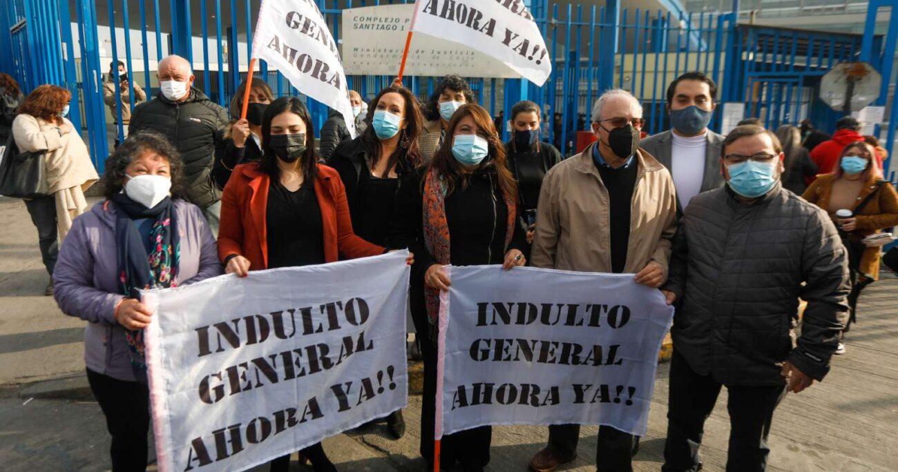 En el recorrido visitaron el módulo 12, donde se encuentran 29 de los 33 presos del estallido encarcelados en ese recinto. AGENCIA UNO