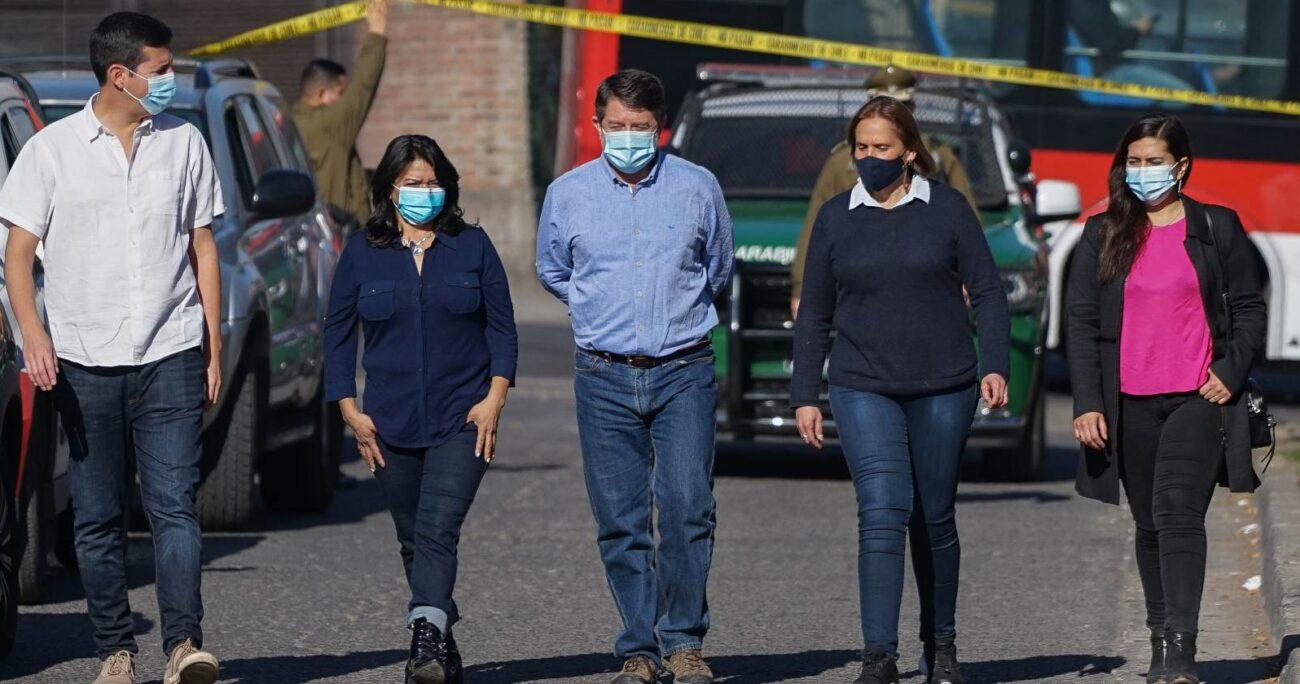 Orrego fue acompañado por Claudio Castro, Claudia Pizarro, Karina Delfino y Carolina Leitao. AGENCIA UNO