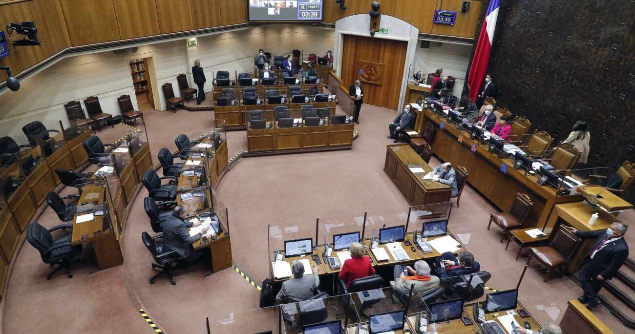 En la Cámara Alta están a la espera de eventuales indicaciones presentadas por el Ejecutivo. AGENCIA UNO