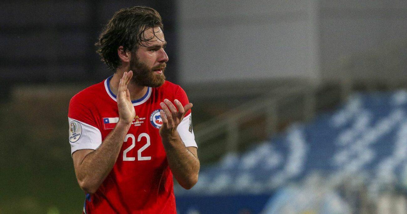El jugador nacional de origen británico es una de las figuras de la Copa América. AGENCIA UNO/ARCHIVO