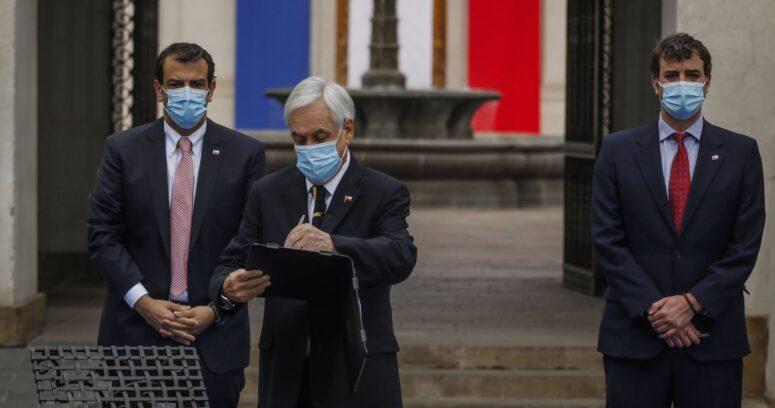 Para el 4 de julio: Piñera convoca a primera sesión de la Convención Constitucional