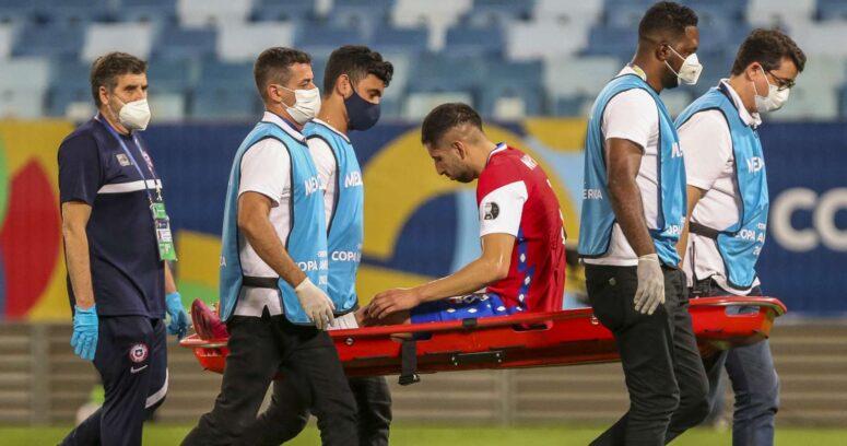 """""""Guillermo Maripán y Erick Pulgar sufrieron lesiones musculares ante Uruguay"""""""
