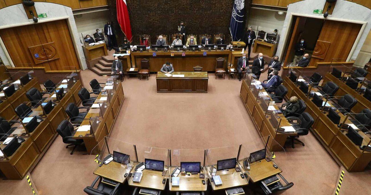La Sala de la Cámara de Diputados, tras una votación que arrojó 93 votos a favor, 38 en contra y seis abstenciones, también aprobó la medida. AGENCIA UNO