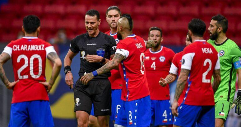 """""""ANFP solicita a Conmebol sanciones para árbitro de partido entre Chile y Paraguay"""""""
