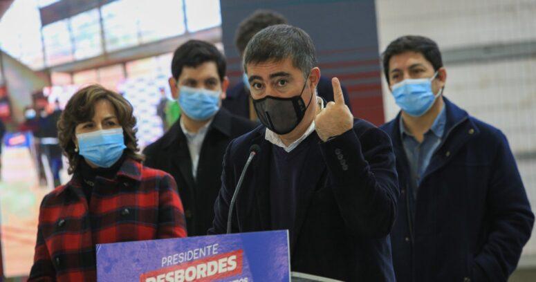 """""""Desbordes aclara rumores de renuncia a carrera presidencial:"""