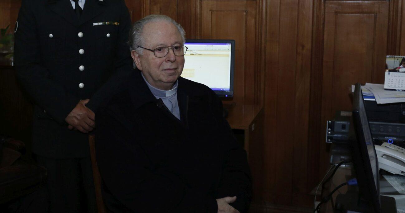 El ex sacerdote se encuentra estable y bajo observación. AGENCIA UNO/ARCHIVO