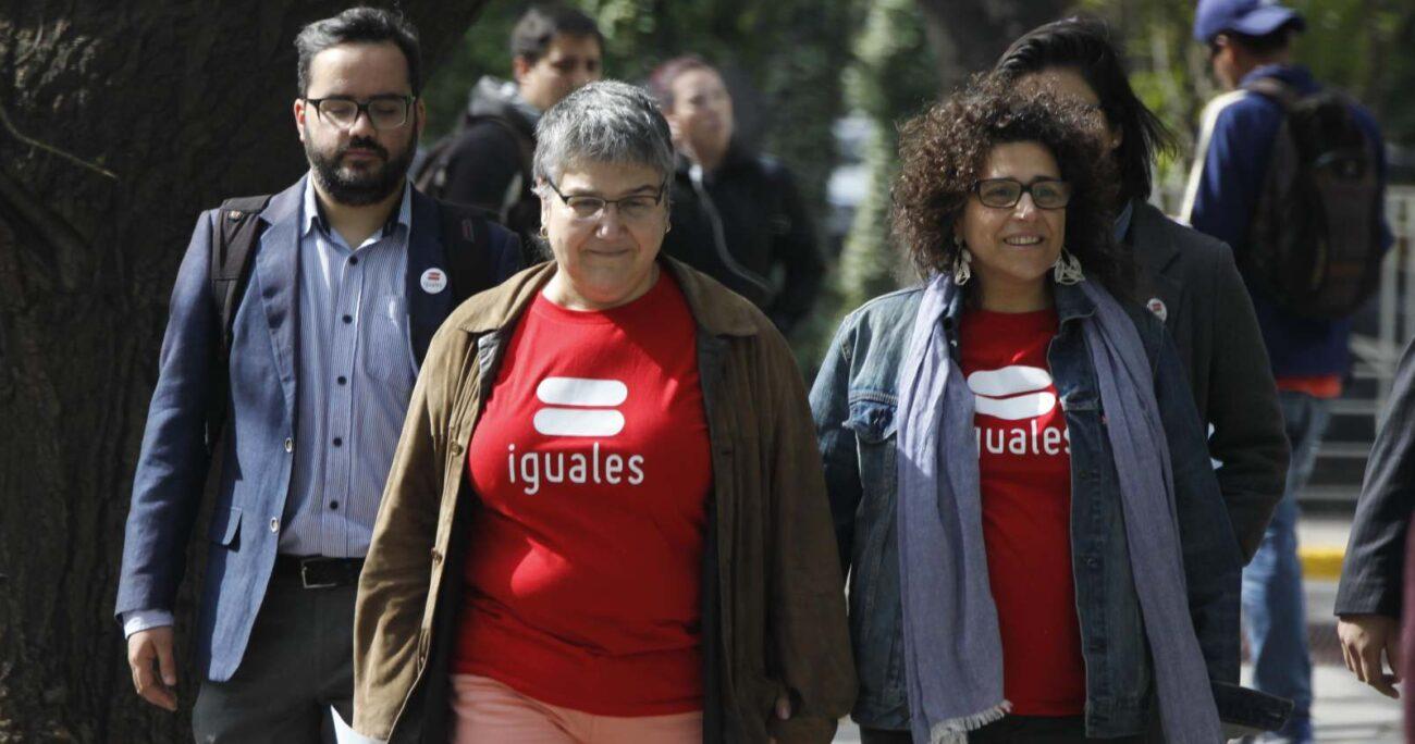 Según la última encuesta Cadem (2021), un 74% de las personas consultadas se mostró a favor del matrimonio igualitario. AGENCIA UNO/ARCHIVO