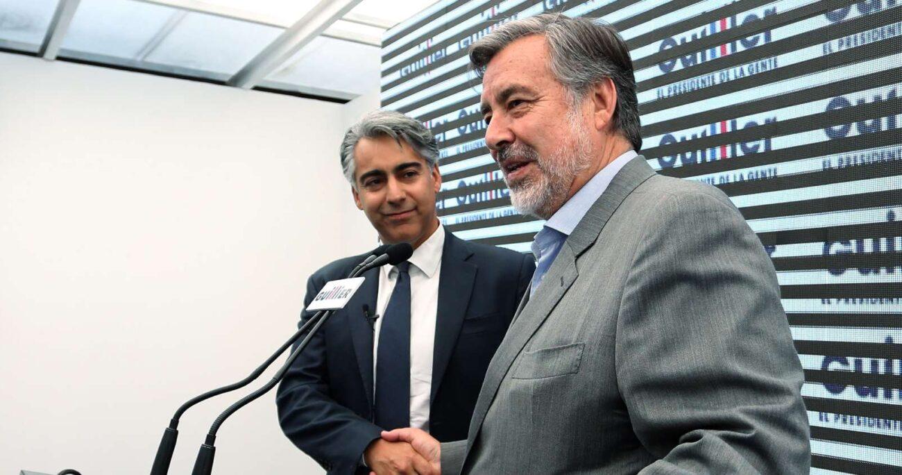 Los acercamientos entre el PRO y Guillier comenzaron cuando el senador apoyó a un candidato de la tienda para la gobernación de Antofagasta. AGENCIA UNO/ARCHIVO