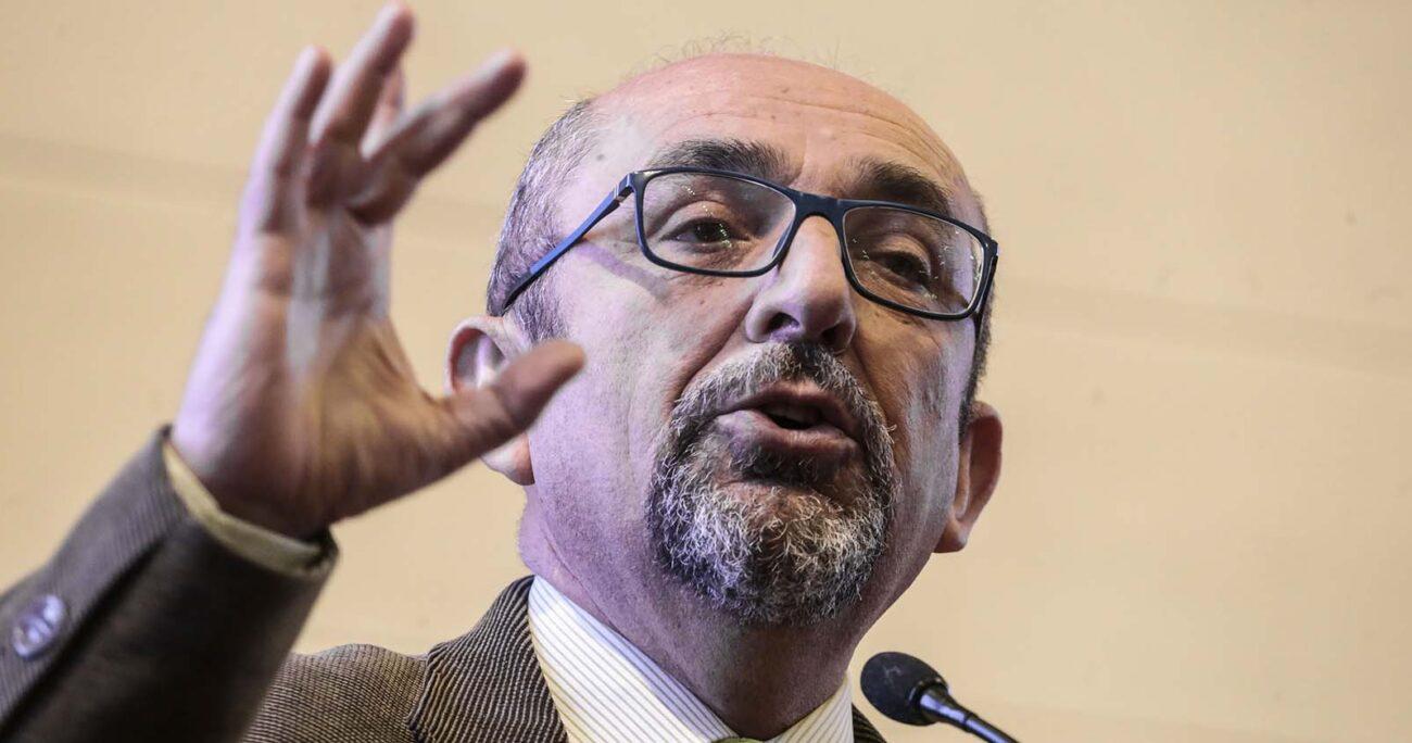 Leonidas Romero lanzó una dura crítica al presidente durante la Cuenta Pública. AGENCIA UNO/ARCHIVO