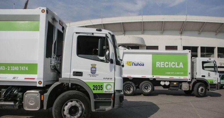 Reciclaje de residuos municipales